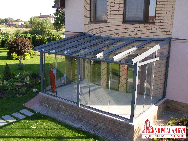 Ts Aluminium зимний сад частный дом в гнидыне система серия т ts aluminium